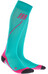 cep Run Socks - Chaussettes course à pied - rose/turquoise